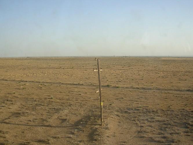 Somewhere between Tashkent and Samarkand