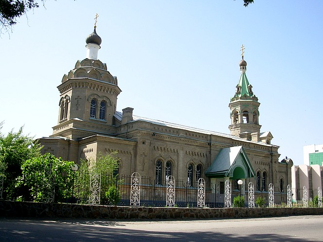 Christian Orthodox Church in Samarkand