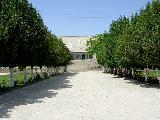 Museum of Afrosihab in Samarkand