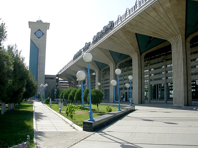 Trainstation of Samarkand