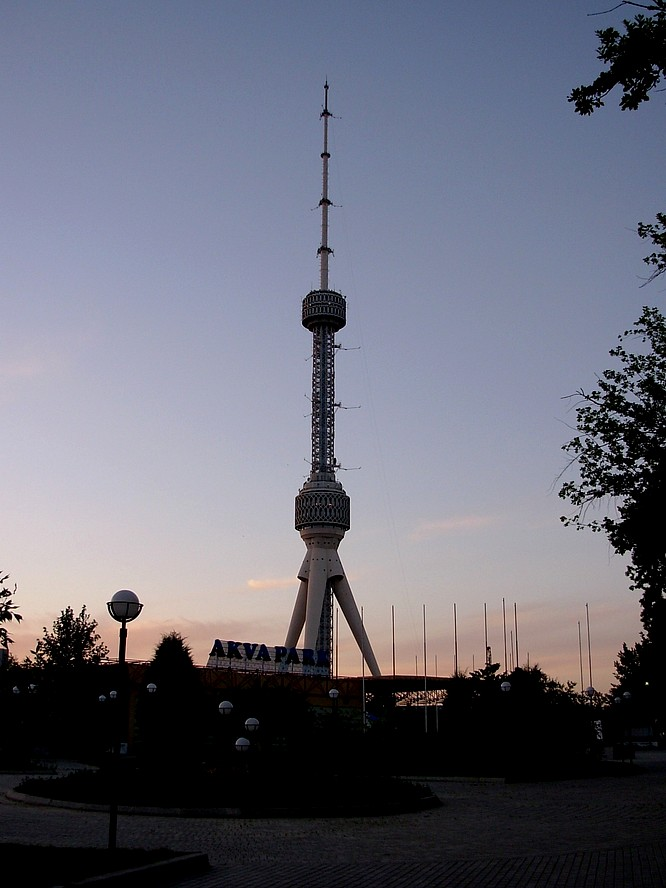 TV Tower of Tashkent (375m)