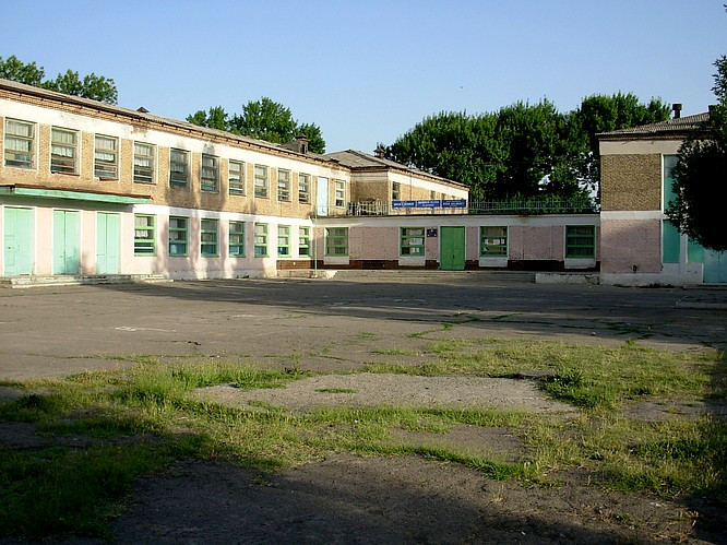 A Regulary Shool in Suburbia of Tashkent