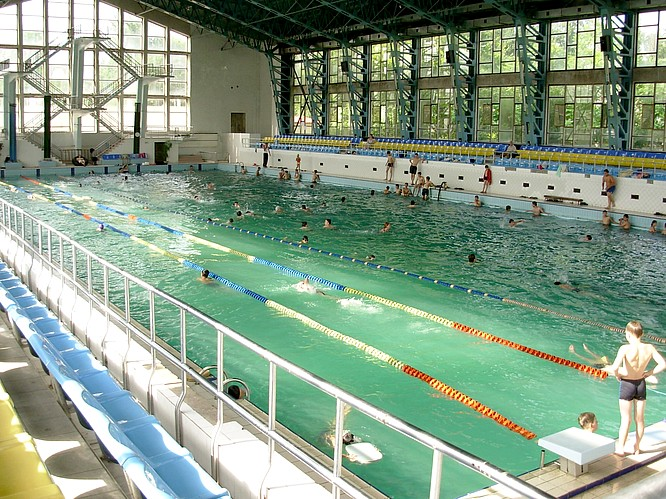 Swimm Hall in Tashkent