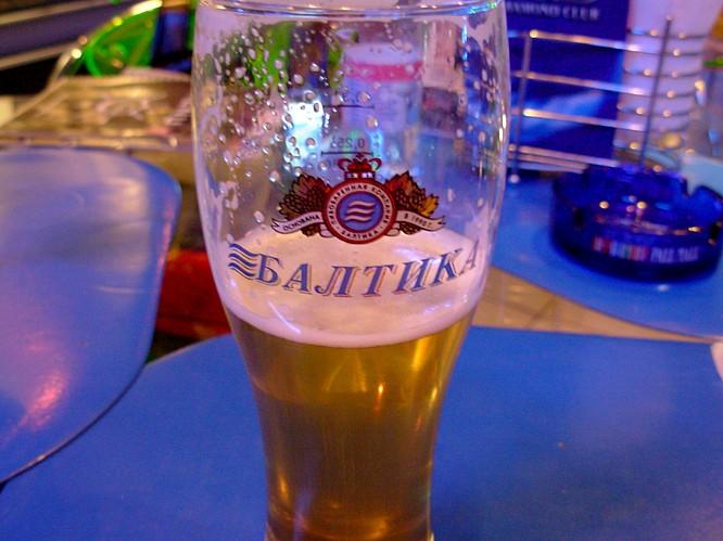 Modern House Club in Tashkent, very good Beer
