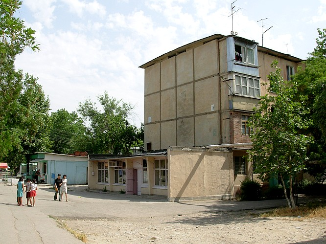 Post Office in Suburbia of Tashkent