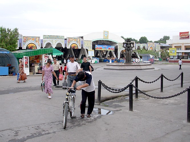 A famous Market / Bazar in Tashkent