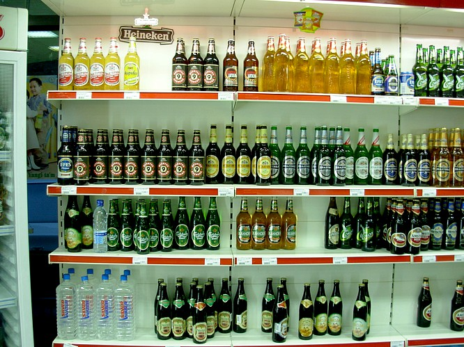 Inside a Supermarket in Tashkent