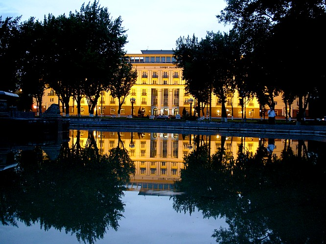 A Famous Hotel in Tashkent