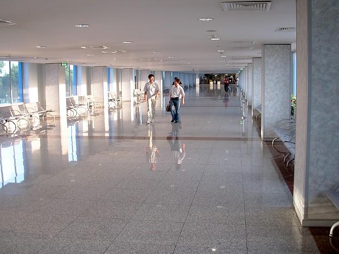 Inside Airport of Tashkent