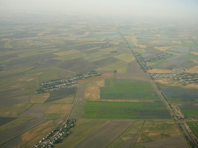 Somewhere between Uzbekistan and Armenia