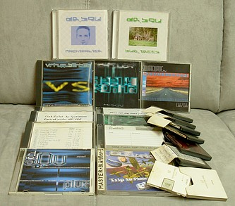 Demo CDs/MDs and some Releases 1996 - 2005 by Squarewave, mr.squ, virtual sences, dr.squ ...