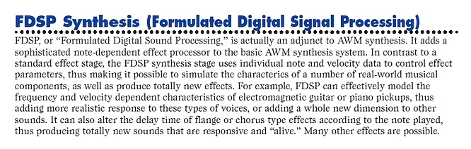 Yamaha EX5/R FDSP Synthesis Formulatet Digital Signal Processing, from manual 09.11.2011