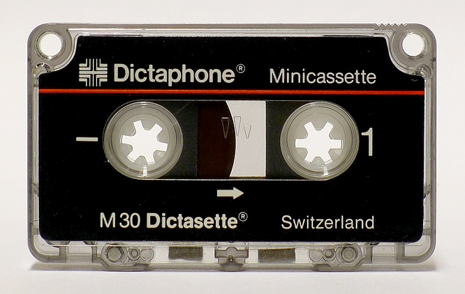 Dictaphone Minicassette M30 Dictasette by deep!sonic 26.03.2015