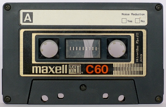 Maxell UDXLII C60 by deep!sonic 27.11.2010