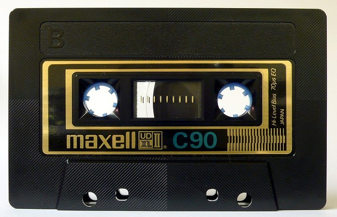 Maxell UDXLII C90 by deep!sonic 18.03.2007