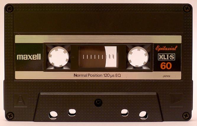 Maxell XLI-S 60 by deep!sonic 04.05.2013