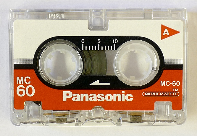 Panasonic Microcassette MC-60 by deep!sonic 08.05.2011